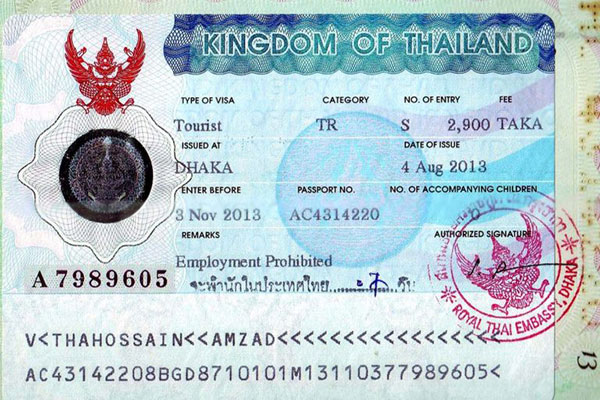 Thailand Visa Tips Before You Travel Asia Open Tours